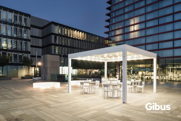 GIBUS MED TWIST 37 600x400 Outdoor solutions: Dynamic System è Gibus Atelier per Bologna
